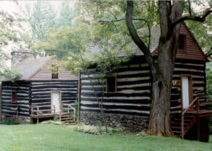 Slave quarters on Rosemont Farm, Waterford, VA