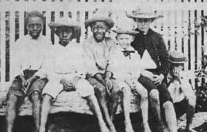 Bond Street buddies, c.1900
