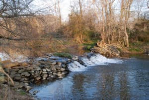 Dam on Catoctin Creek in Waterford VA