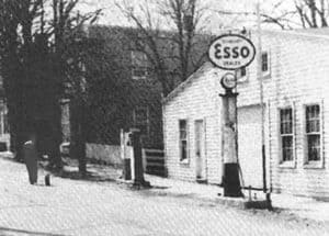 The livery stable on Second Street was converted to a garage in Waterford VA