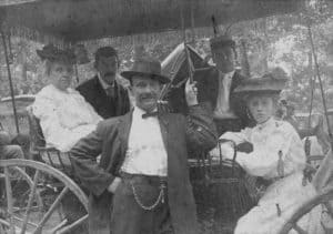 Waterford family in buggy