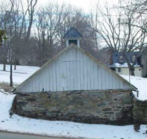 Ice house on Patrick Street in Waterford VA