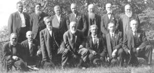 Loudoun Rangers reunion at Waterford Virginia in 1910