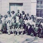 Second Street School class in 1910