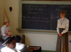 Second Street School Living History Program