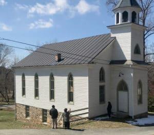 John Wesley Church built in 1888 in Waterford Virginia