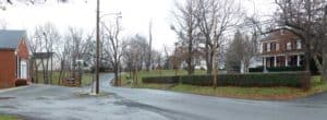 Baptist Church and Mrs. Virtz's house on High Street (c. 2005) in Waterford VA