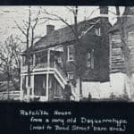 Ratcliffe House on lower Main Street in Waterford VA