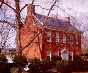 Loudoun Company was the first bank in Loudoun (the Bank House on Main Street)
