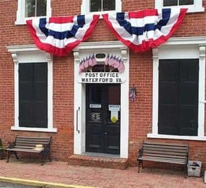 Waterford Virginia Post Office July 4th