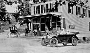 1912 Cadillac by the Corner Store in Waterford Virginia