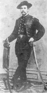 Lieutenant John W. Hutchinson of the 13th New York Voluntary Cavalry