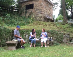 Visitors by the Jail in Waterford Virginia